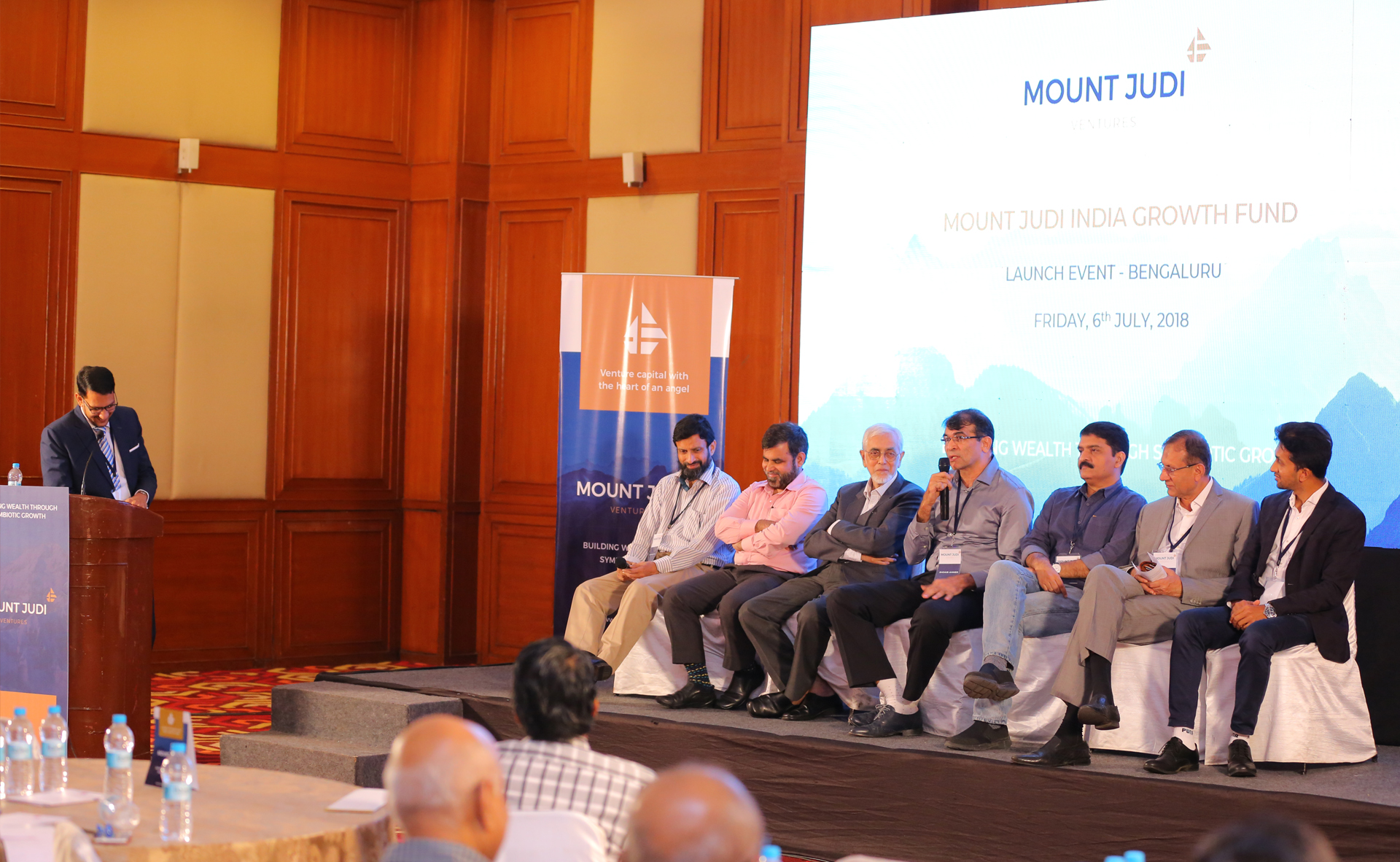 General Partners sharing their motivations for starting Mount Judi Ventures